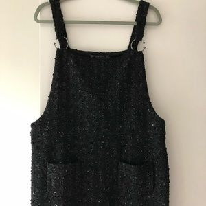 Zara tank top tweed new without tag